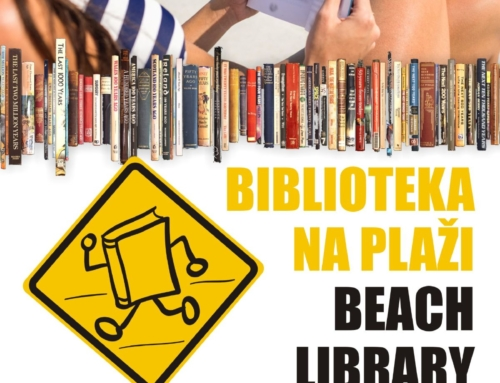 Biblioteka na plaži
