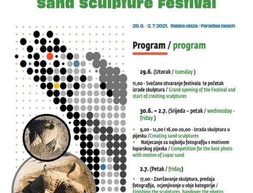 29.6. – 2.7. 10. Festival skulpture u pijesku, Rajska plaža